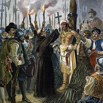 Resultado de imagen para atahualpa muerte